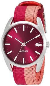 [ラコステ]Lacoste  Malaga Analog Display Japanese Quartz Pink Watch 2000926 レディース