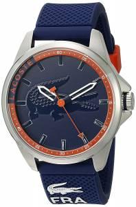 [ラコステ]Lacoste  Capbreton Analog Display Japanese Quartz Blue Watch 2010842 メンズ