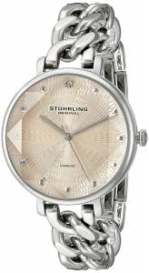 [ステューリングオリジナル]Stuhrling Original Vogue Genuine Diamond Chain Link 596.03