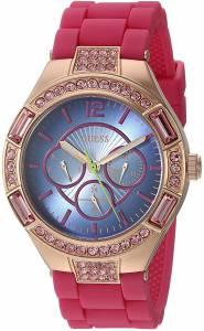 [ゲス]GUESS 腕時計 Dark Pink Watch with Blue MultiFunction Dial U0777L1 レディース