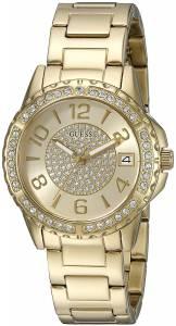 [ゲス]GUESS 腕時計 Crisp GoldTone Watch with Date Function U0779L2 レディース