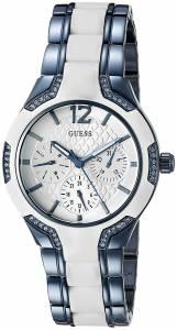 [ゲス]GUESS 腕時計 Cool Iconic Sky Blue and White MultiFunction Watch U0556L9 レディース