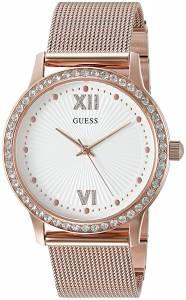 [ゲス]GUESS 腕時計 Sleek Rose GoldTone Watch with SelfAdjustable Links U0766L3 レディース