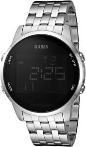 [ゲス]GUESS 腕時計 SilverTone MultiFunction Digital Watch U0786G1 メンズ [並行輸入品]