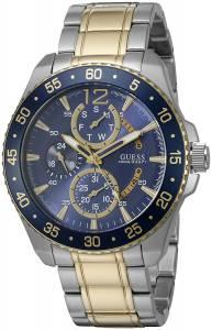 [ゲス]GUESS 腕時計 TwoTone Sport Watch with Iconic Blue MultiFunction Dial U0797G1 メンズ