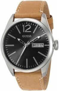 [ゲス]GUESS 腕時計 VintageInspired Watch with Tan Genuine Leather Strap U0658G7 メンズ
