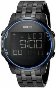 [ゲス]GUESS 腕時計 U0786G3 Black Ionic Plated MultiFunction Digital Watch U0786G2 メンズ