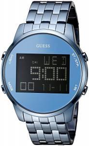 [ゲス]GUESS 腕時計 Iconic Sky Blue MultiFunction Digital Watch U0786G3 メンズ