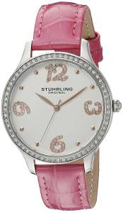 [ステューリングオリジナル]Stuhrling Original Symphony Analog Display Quartz Pink 560.03