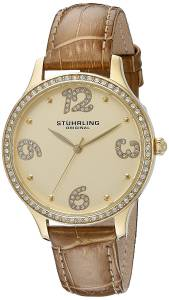 [ステューリングオリジナル]Stuhrling Original Symphony Analog Display Quartz Beige 560.04