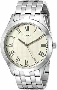 [ゲス]GUESS 腕時計 Classic SilverTone Watch U0476G2 メンズ [並行輸入品]