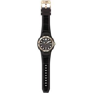 [テクノマリーン]TechnoMarine  Sun Reef Analog Display Swiss Quartz Black Watch TM-515008