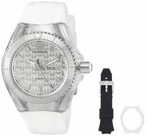 [テクノマリーン]TechnoMarine  Cruise Monogram Analog Display Quartz White Watch TM-115060