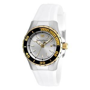 [テクノマリーン]TechnoMarine  Sea Manta Analog Display Swiss Quartz White Watch TM-215057