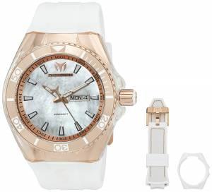 [テクノマリーン]TechnoMarine  Cruise Monogram Analog Display Quartz White Watch TM-115063