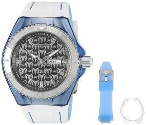 [テクノマリーン]TechnoMarine Cruise Monogram Analog Display Quartz Two Tone Watch TM-115065