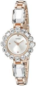 [ゲス]GUESS  Dressy Jewelry Inspired Rose GoldTone Watch with SelfAdjustable Bracelet U0701L3