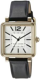 [マーク ジェイコブス]Marc Jacobs 腕時計 Vic Black Leather Watch MJ1437 レディース