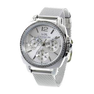 [コーチ]Coach  Boyfriend 34mm Mesh Watch Silver/Stainless Steel Watch 14502489 レディース