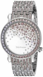 [ジューシークチュール]Juicy Couture  Analog Display Quartz Silver Watch 1901347