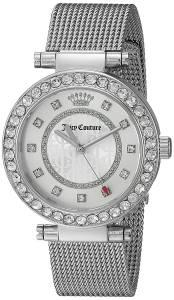 [ジューシークチュール]Juicy Couture  Cali SilverTone Stainless Steel Watch 1901372