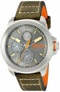 [ヒューゴボス]HUGO BOSS BOSS Orange New York Analog Display Japanese Quartz Green 1513318