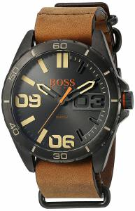 [ヒューゴボス]HUGO BOSS BOSS Orange Berlin Analog Display Japanese Quartz Brown Watch 1513316