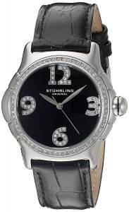 [ステューリングオリジナル]Stuhrling Original Vogue Analog Display Quartz Black 592.02