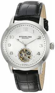 [ステューリングオリジナル]Stuhrling Original 'Legacy' Stainless Steel and Black 781.01