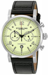 [ステューリングオリジナル]Stuhrling Original 'Aviator' Quartz Stainless Steel and 583.02