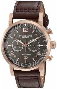 [ステューリングオリジナル]Stuhrling Original 'Aviator' Quartz Stainless Steel and 583.03