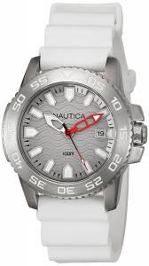 [ノーティカ]Nautica 腕時計 NSR 20 Analog Display Quartz White Watch NAD12528G メンズ