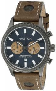 [ノーティカ]Nautica 腕時計 NMS 02 Analog Display Quartz Brown Watch NAD19538G メンズ