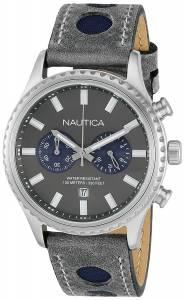 [ノーティカ]Nautica 腕時計 NMS 02 Analog Display Quartz Grey Watch NAD18511G メンズ