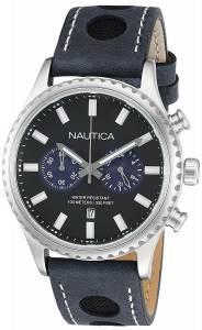 [ノーティカ]Nautica 腕時計 NMS 02 Analog Display Quartz Blue Watch NAD18512G メンズ