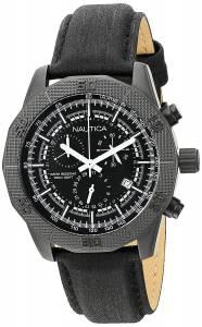 [ノーティカ]Nautica 腕時計 NST 11 Analog Display Quartz Black Watch NAD17520G メンズ