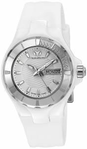 [テクノマリーン]TechnoMarine Cruise Ceramic Analog Display Swiss Quartz White Watch TM-110022