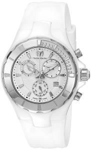 [テクノマリーン]TechnoMarine Cruise Ceramic Analog Display Swiss Quartz White Watch TM-110030