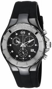 [テクノマリーン]TechnoMarine Cruise Ceramic Analog Display Swiss Quartz Black Watch TM-110029