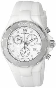 [テクノマリーン]TechnoMarine Cruise Ceramic Analog Display Swiss Quartz White Watch TM-110031