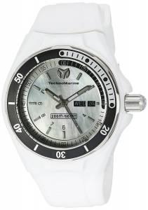 [テクノマリーン]TechnoMarine  Cruise Sport Analog Display Quartz White Watch TM-110065