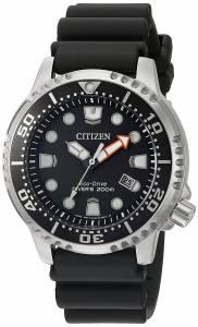 [シチズン]Citizen 'Promaster Diver' Quartz Stainless Steel and Polyurethane Diving BN0150-28E