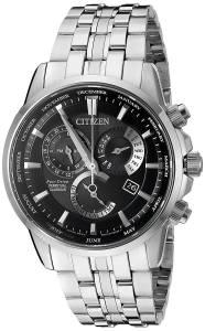 [シチズン]Citizen EcoDrive 'Perpetual Calendar' Quartz Stainless Steel Casual Watch, BL8140-55E