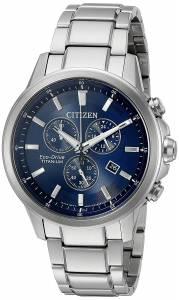 [シチズン]Citizen  EcoDrive 'Titanium' Quartz Casual Watch, Color: SilverToned AT2340-56L