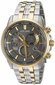 [シチズン]Citizen EcoDrive 'Perpetual Calendar' Quartz Stainless Steel Casual Watch, BL8144-54H