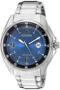 Citizen シチズン メンズ腕時計 Men's 'Drive' Quartz Stainless Steel Casual Watch AW1510-54L