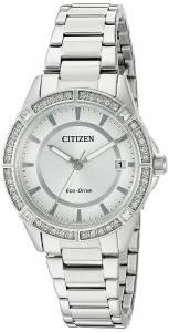 [シチズン]Citizen Drive From EcoDrive Quartz Stainless Steel Casual Watch, Color: FE6060-51A