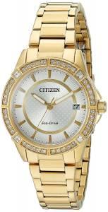 [シチズン]Citizen Drive From EcoDrive Quartz Stainless Steel Casual Watch, Color: FE6062-56A