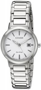 [シチズン]Citizen EcoDrive 'Sport' Quartz Stainless Steel Casual Watch, Color: EW2370-57A