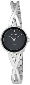[シチズン]Citizen  'Silhouette' Quartz Stainless Steel Casual Watch EX1420-50E レディース